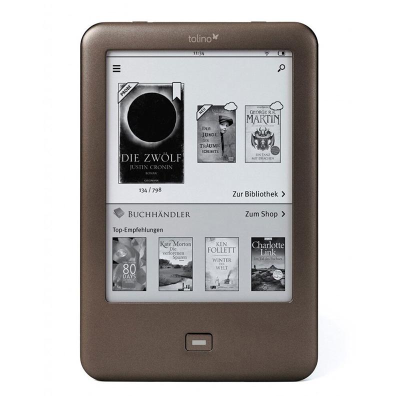 Электронная книга Tolino Shine e-ink