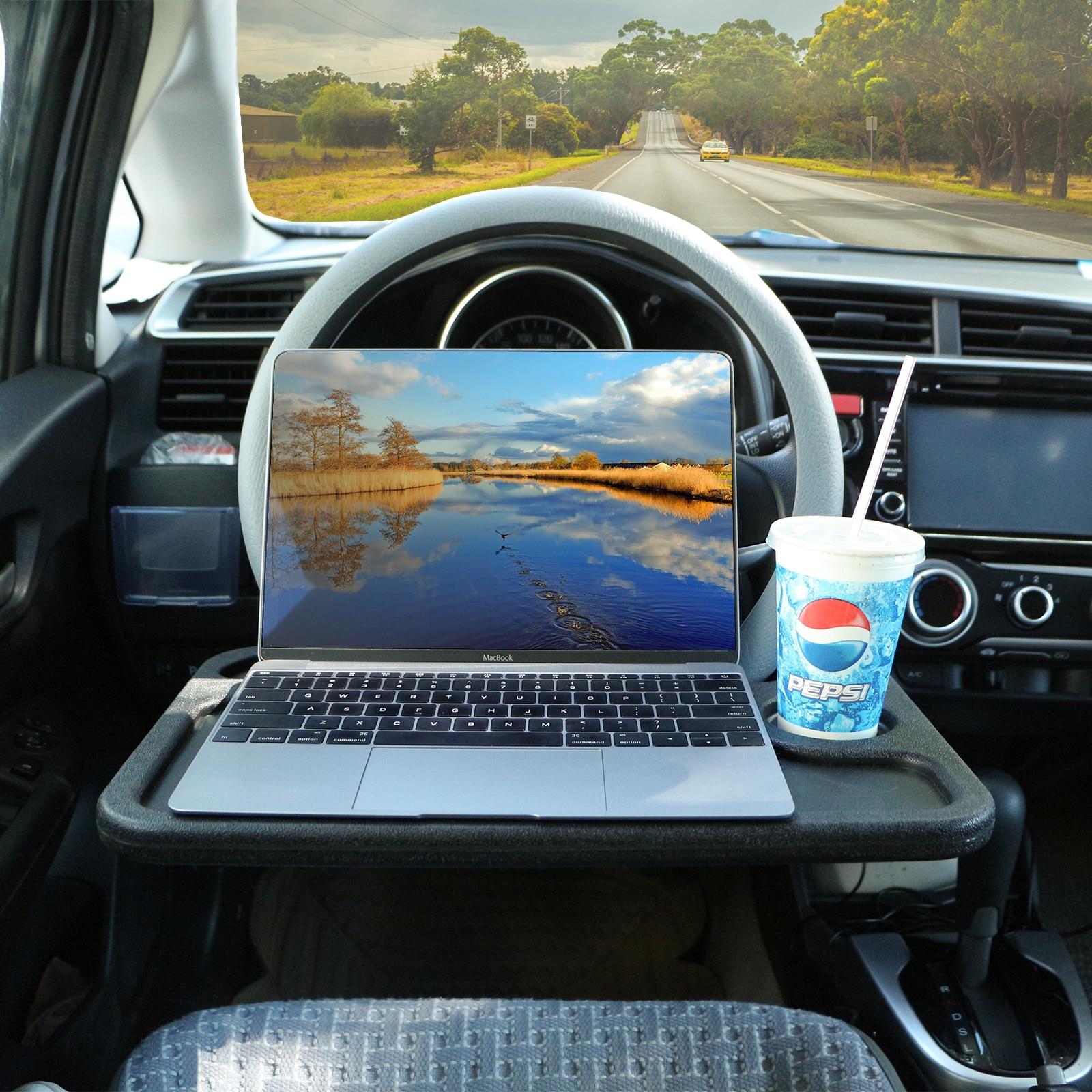 Столик для ноутбука на рулевое колесо