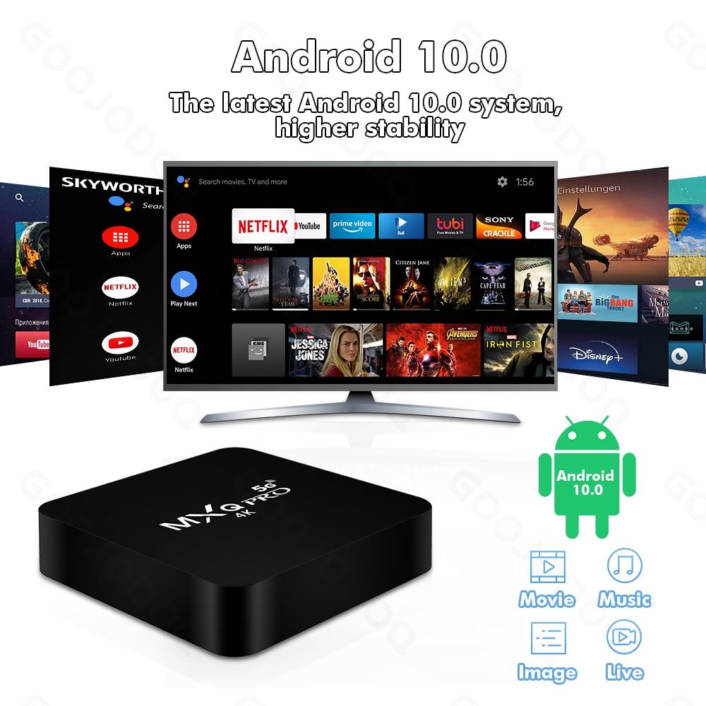 GOOJODOQ Android Smart TV Box 5G
