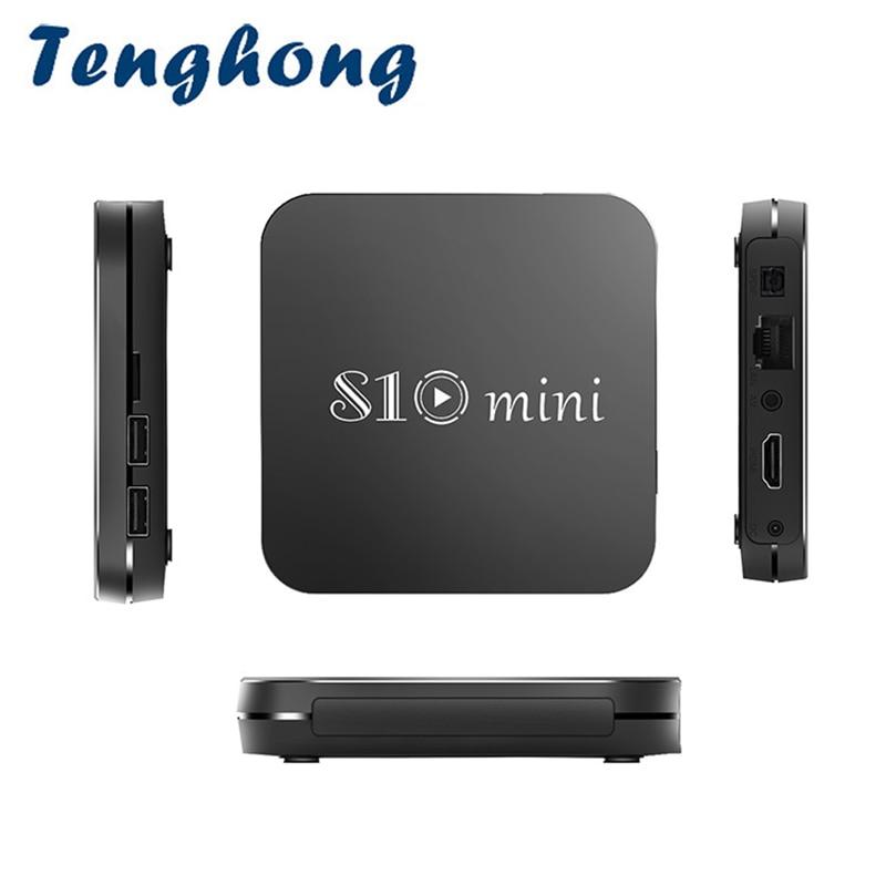 Tenghong S10mini Новый Android 9.0 Смарт ТВ BOX