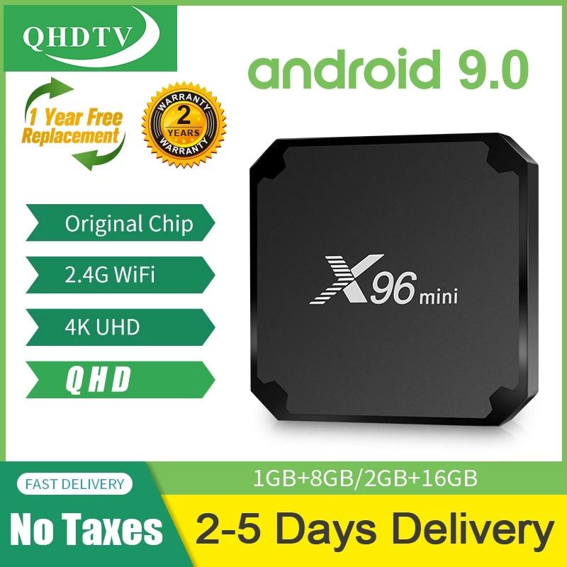 X96 mini Android 9.0 Smart hdtv Box смарт-ТВ